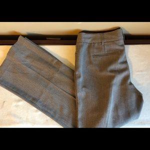 Pants - Checked dress pants.